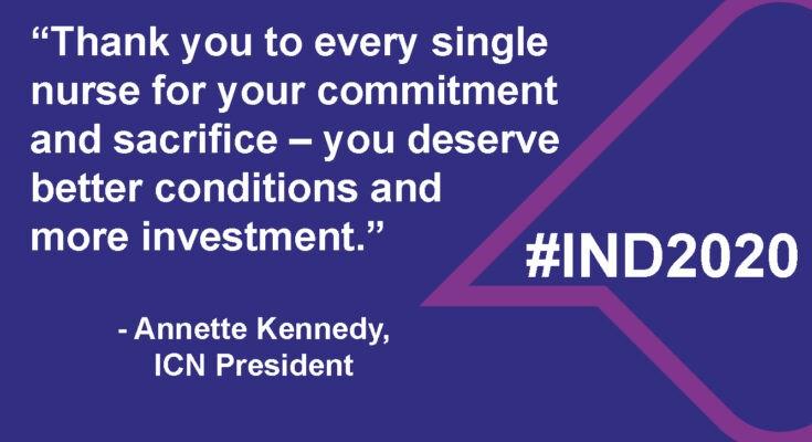 #IND2020: Apelamos à gratidão, respeito e melhores condições para os(as) enfermeiros(as)