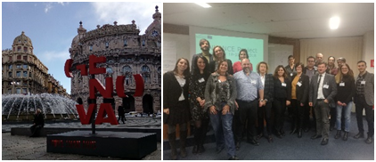 Project meeting in Genoa – 17th to 19th January 2018